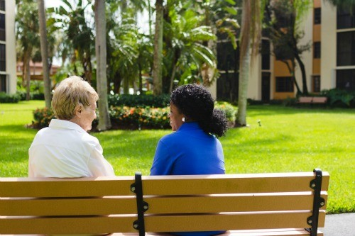 Elderly Home Care Conversation Florida